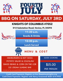 4th of July 2021 Flyer